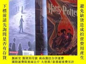 二手書博民逛書店HARRY罕見POTTER and the Deathly Hallows 7【哈利波特】Y7319 出