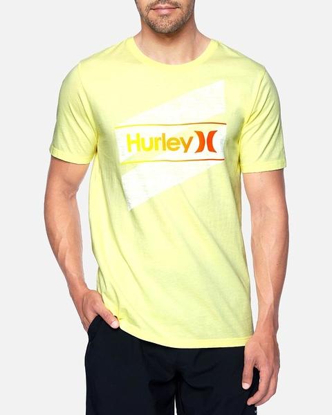 HURLEY|男 EVD WSH OAO SLASHED SS短袖TEE