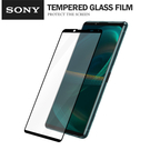 SONY Xperia 5 Ⅲ (5G) 彩色滿版全屏鋼化玻璃膜 全覆蓋鋼化膜 螢幕保護貼 防刮防爆