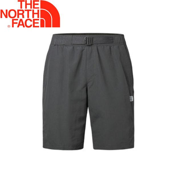 【The North Face 男款 排汗短褲《灰》】NF0A2XVW/短褲/休閒短褲/排汗短褲★滿額送