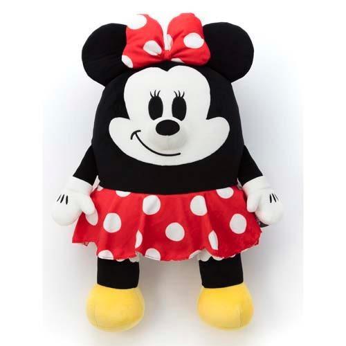 米妮 抱枕娃娃 超舒服觸感 Mocchi-Mocchi 日本正品 M號 迪士尼 該該貝比日本精品 ☆