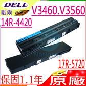 DELL電池(原廠)-戴爾電池 3460,V3460,3560,V3560,8858X,8P3YX AUDI A4,A5,S5,R48V3,3460,3560,T54FJ