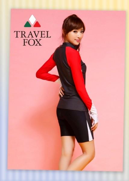 【夏之戀TRAVEL FOX】衝浪可長袖兩件式泳裝(C14709)