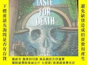 二手書博民逛書店A罕見TASTE FOR DEATHY3701 P.D. James COMPANY 出版1986