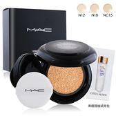 M.A.C 超持妝無瑕氣墊 SPF50/PA++(12g)#NC15+專櫃清潔卸妝試用包X1