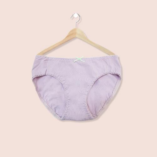 內褲 透氣舒適棉質低腰三角褲-紫-F-波曼妮亞