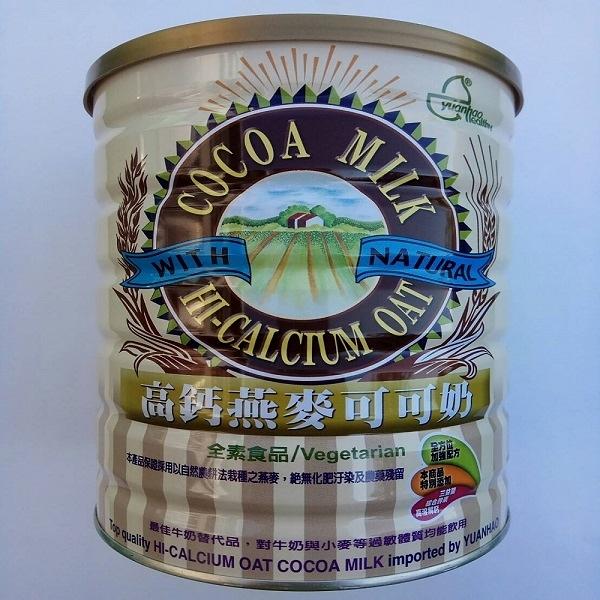 元豪 高鈣燕麥可可奶 850g/罐 效期至2021.11.25 出清特惠