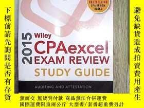 二手書博民逛書店Wiley罕見Cpaexcel Exam Review 2015