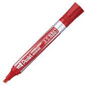 N861-B 紅色 平頭油性筆 Pentel