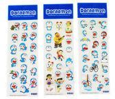 【卡漫城】 Doraemon 雷射 貼紙 3張組 ㊣版 哆啦 A夢 多拉 小叮噹 造型 大雄 胖虎 靜香 小夫 小叮鈴