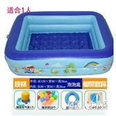 嬰兒童充氣游泳池加厚戲水池家庭用簡單型號小朋友 JH1242『俏美人大尺碼』