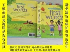 二手書博民逛書店罕見FirstWords(Board)【實物拍圖,內頁幹凈】Y8791 Felicity Brooks(費莉西