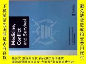 二手書博民逛書店Medicine,罕見conflict, and survival (Journal) 04-06 2016 醫學