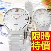 陶瓷錶-繽紛奢華設計女腕錶5色55j7[時尚巴黎]
