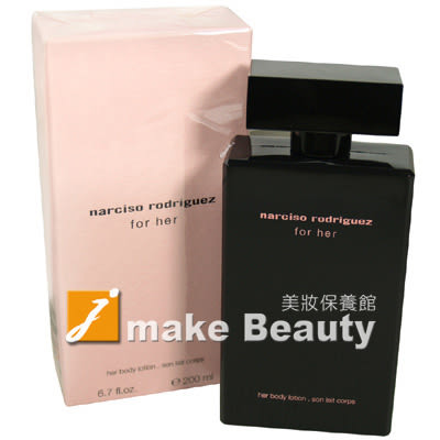 Narciso Rodriguez For Her 美體香乳(200ml)《jmake Beauty 就愛水》