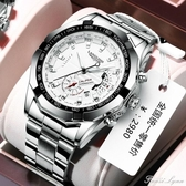 防水夜光全自動男士手錶男學生韓版潮流時尚非機械錶 聖誕節全館免運