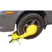 加厚 吸盤式汽車車輪鎖 防盜輪胎鎖 鎖車器 小汽車車輪鎖