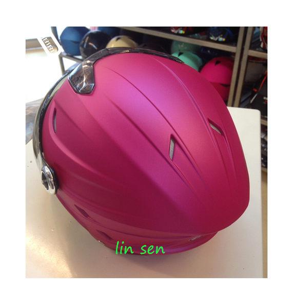 GP-5半罩安全帽,020/消光桃紅