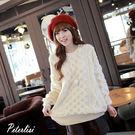 韓版長袖針織打底衫中長款毛衣 2060K 彼得麗絲