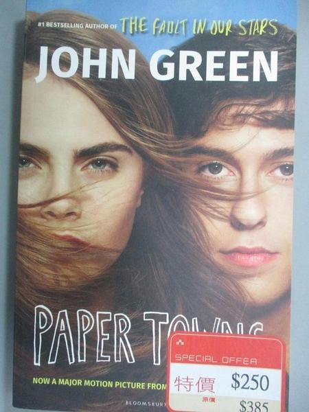 【書寶二手書T3/原文小說_FSX】Paper Towns_GREEN JOHN