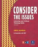 二手書博民逛書店 《Consider the Issues: Student book》 R2Y ISBN:0131115936