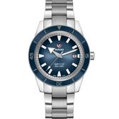 RADO雷達HyperChrome皓星系列庫克船長機械錶(R32105203)-藍