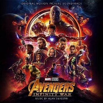 復仇者聯盟 3 無限之戰 電影原聲帶 CD Avengers Infinity War O.S.T. 免運 (購潮8)