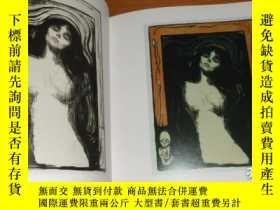 二手書博民逛書店2手英The罕見Symbolist Prints of Edva