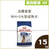寵物家族-法國皇家MXA+5大型成熟犬15kg(原SGR+5)