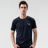 【Takaka】男 時尚休閒排汗衣『雲彩墨藍』S11916 休閒 居家 運動 上衣 T恤 素面
