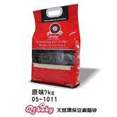 [寵樂子]QT BABY 天然環保豆腐砂-原味│綠茶7kG/包 兩種香味可選