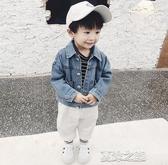 男童牛仔外套-童裝男童寶寶軟牛仔外套兒童春秋裝新款韓版洋氣夾克嬰幼小童 夏沫之戀