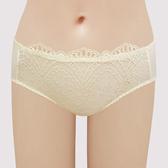 【瑪登瑪朵】S-Select 低腰三角網內褲(鵝黃)(未滿3件恕無法出貨,退貨需整筆退)