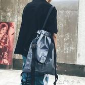 男背包 束口袋抽繩雙肩包男女通用手提單肩斜挎時尚輕便運動學生書包 卡卡西