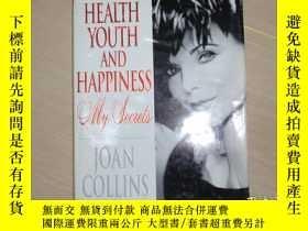 二手書博民逛書店英文原版:health罕見youth and happiness