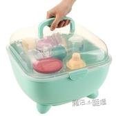 奶瓶收納箱防塵嬰幼兒餐具箱奶瓶架奶瓶收納盒奶瓶干燥架防蟲  ATF