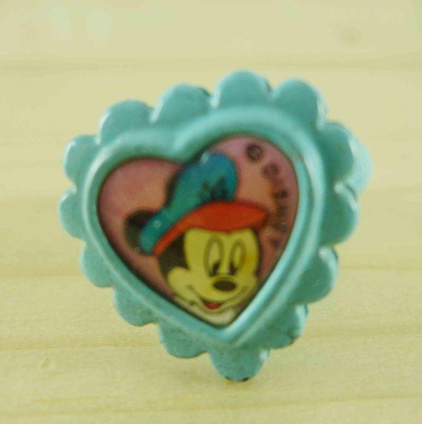 【震撼精品百貨】Micky Mouse_米奇/米妮 ~戒指-藍米奇