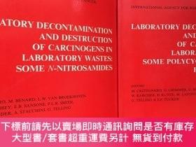 二手書博民逛書店Laboratory罕見Decontamination and Destruction of Carcinogen