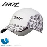 Zoot COOLMAX反光型運動跑帽(扶桑白)運動帽 路跑帽 鴨舌帽 帽圓遮陽帽 三鐵帽 棒球帽