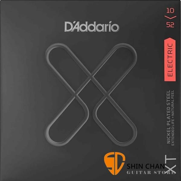 【缺貨】美國 DAddario XTE-1052 (10-52) 電吉他弦 【XTE1052/吉他弦專賣店/DAddario】