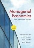 二手書博民逛書店《Managerial Economics: Theory, Applications, and Cases (ISE)》 R2Y ISBN:0393927504