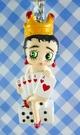 【震撼精品百貨】Betty Boop_貝蒂~鎖圈-撲克女郎