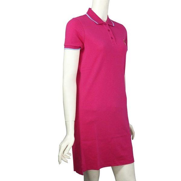 【KENZO】小虎頭短袖polo洋裝(桃粉色)  2R0863981 26