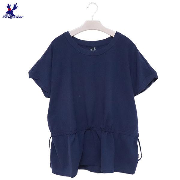 【單一特價】American Bluedeer-連袖抽繩上衣 春夏新款