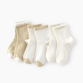 襪子 兒童襪子中筒襪純棉寶寶男長襪新生兒秋季女剛出生嬰兒長筒襪春秋-米蘭街頭