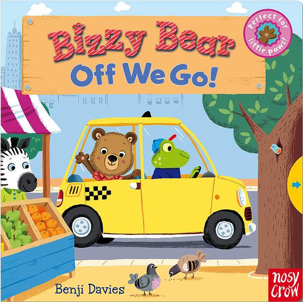 【Bizzy Bear 可愛操作書】BIZZY BEAR: OFF WE GO /硬頁書
