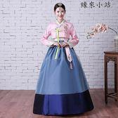 朝鮮服族刺繡花韓服女