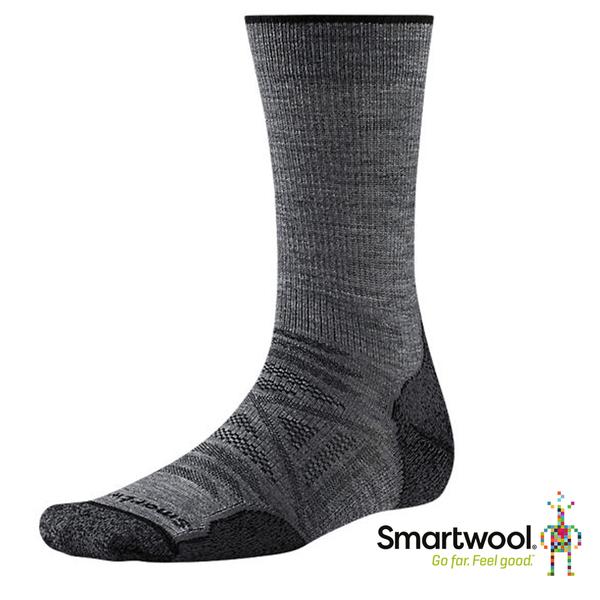 Smartwool 男PhD戶外輕量減震中長襪『中性灰』SW001069 美國製 保暖襪 登山襪 運動襪