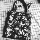 小清新印花椰子樹帆布袋撞色女包購物袋單肩環保袋 開學季特惠減88