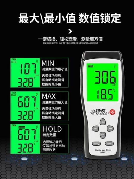 照度計 亮度測試儀 燈光照明亮度檢測儀 數字測光流明表 城市科技DF